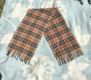 Burberry Classic Check Cashmere Scarf for Sale in Denver, CO