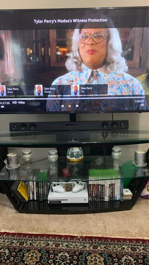Glass TV Stand for Sale in Springfield, VA