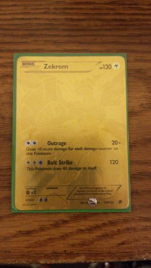 Pokemon golden card, SUPER RARE for Sale in Irvine, CA