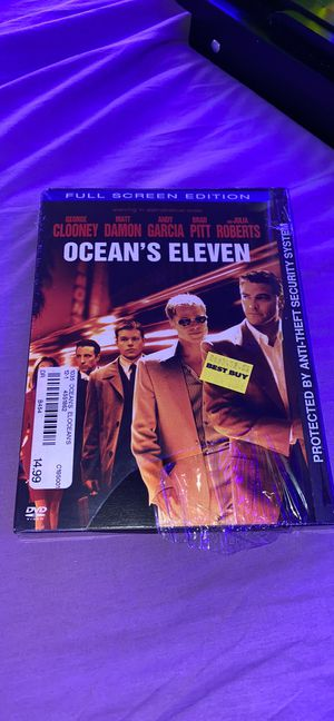 Ocean's Eleven DVD full screen for Sale in Wantagh, NY