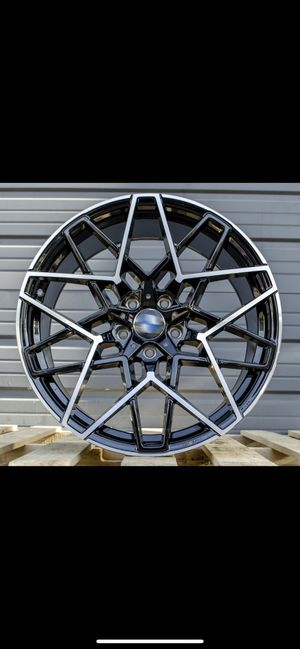 """Bmw 19 or 20"""" m style rims tires set for Sale in Hayward, CA"""