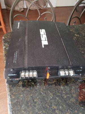 SSL 1600 watt 2 channel amp for Sale in Lake Wales, FL