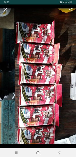 Donruss nfl cards 2020 ELITE fat packs for Sale in Hanover Park, IL