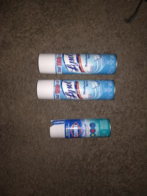 Lysol bundle for Sale in Temple Hills, MD
