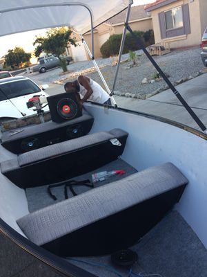 Aluminum fishing boat for Sale in Fontana, CA