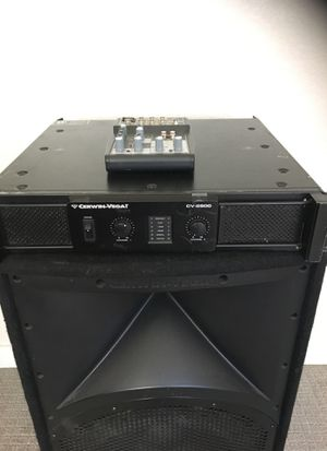 2 Party / DJ Speakers and equipment for Sale in Phoenix, AZ