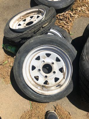 5 lug trailer tires for Sale in Anderson, SC