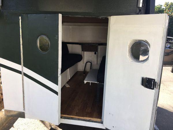 Track / camp trailer enclosed