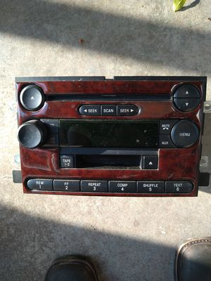 F150 factory radio CD player cassette player for Sale in Pasadena, TX