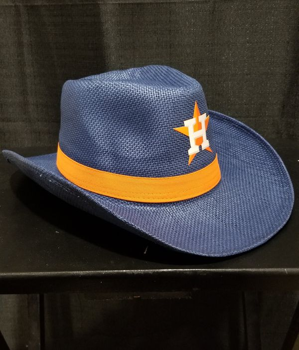 Houston Astros Cowboy Hat - BBQ Voucher Exclusive on Saturday the 7th