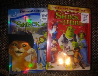 Shrek 2 & 3 Brand New Sealed DVD Movies for Sale in Pinellas Park,  FL