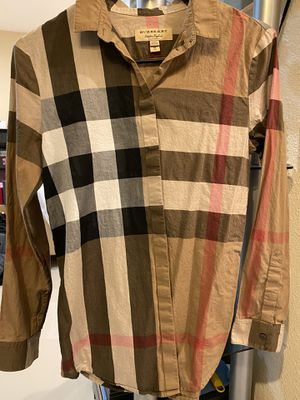 Burberry women shirt size XS for Sale in Midway City, CA