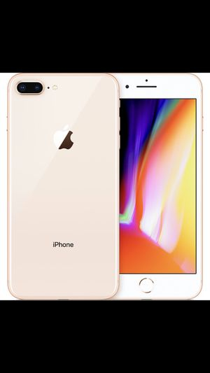 Iphone 8 plus gold 64 gb unlocked for Sale in MONTGOMRY VLG, MD