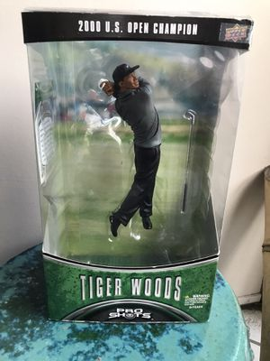 Tiger Woods Action Figure /2000 US Open Champion for Sale in West Palm Beach, FL