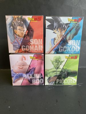 Dragon Ball prefabricated action pose figures 4 set for Sale in San Francisco, CA