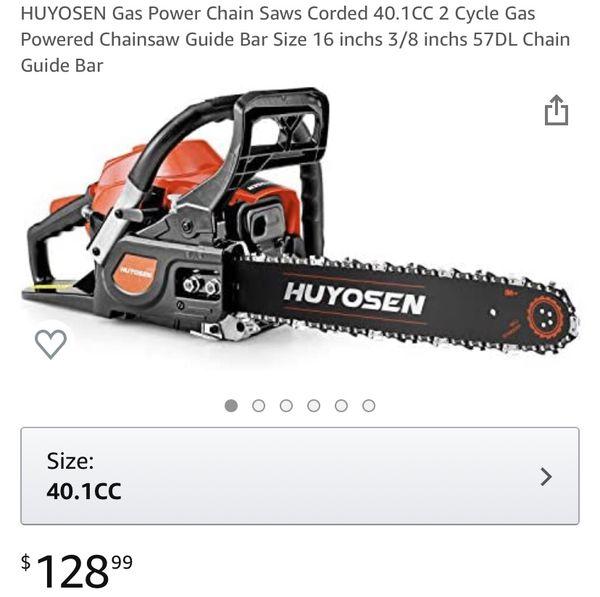 Gas Power Chainsaw