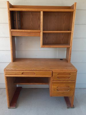 Small oak desk for Sale in Delta, CO
