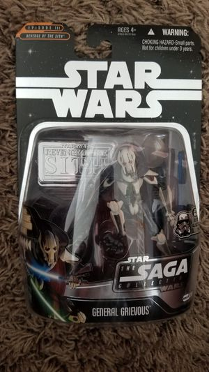 2006 Hasbro Star Wars Saga Collection #030 General Grievous Action Figure for Sale in Warrington, PA