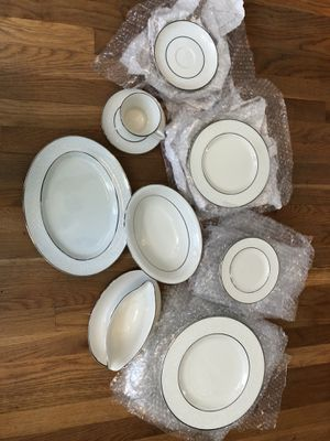 Beautiful Belcrest China (43 piece) for Sale in Raleigh, NC