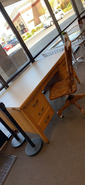 Beautiful wooden desk for Sale in Chico, CA