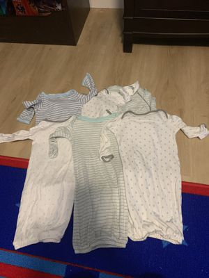 Baby gowns- 6 of them for Sale in Toms River, NJ