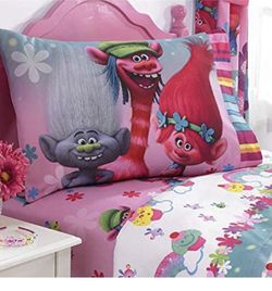 Twin Sheet Set 3-pc, Girls, Trolls for Sale in Salem,  OR