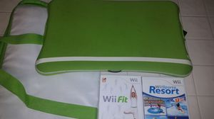 Wii fit- drawing pad - games for Sale in Escondido, CA