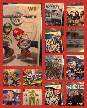 Wii and Wii U games. See picture for price for Sale in Knoxville, TN