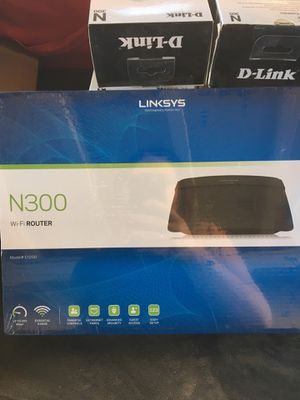 Linksys N300 WiFi Router for Sale in Anaheim, CA