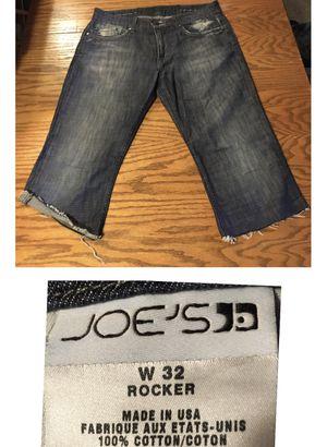 Joe's size 32 the rocket cutoffs long length for Sale in Portland, OR