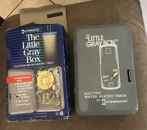 Little gray box water heater timer for Sale in Kissimmee, FL