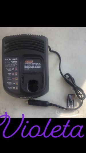 Ryobi Vehicle Dual Chemistry Charger for Sale in Compton, CA