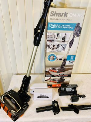 Shark ION F80 Duo-Clean Cord-Free MultiFLEX Stick Vacuum w/ (2) Batteries 24v 🔋, Charging Base & Accessories - Awesome Condition... Grab it!! 👈 for Sale in Boynton Beach, FL