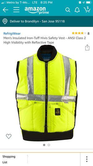 Safety vest for Sale in San Jose, CA