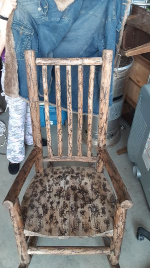 Wooden rocking chair for Sale in Conroe, TX