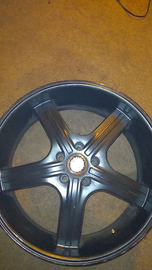 """U2 WHEELS 24"""" RIMS BLACK RETAIL PRICES $15OO ONLY ASKING $400 for Sale in Chula Vista, CA"""