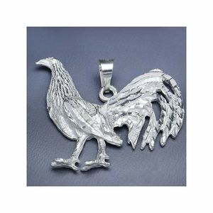 Rooster pure silver .925 4×5cm for Sale in Lakewood Township, NJ