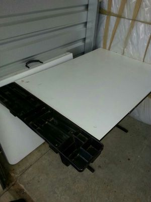 art / drafting table with storage for art supplies. for Sale in McDonough, GA