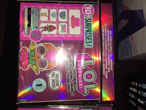 LOL SURPRISE! Furniture 10+ items. Meubles. Mobel. Exclusive Doll inside ! for Sale in DeSoto, TX