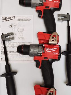"""MILWAUKEE M18 FUEL 1/2"""" HAMMER DRILL DRIVER (TOOL ONLY) $95 EACH for Sale in Los Angeles,  CA"""