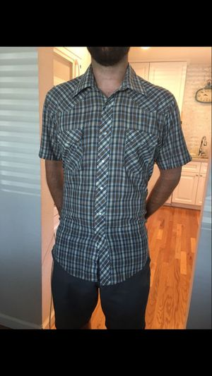 Vintage JCPenney Western Pearl Snap Shirt Cowboy for Sale in Rancho Cordova, CA
