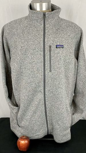 PATAGONIA Men's Stonewash Grey Better Sweater Fleece XXL Full Zip Jacket 2X for Sale in Mesquite, TX