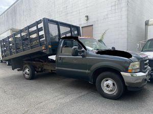 2004 Ford F-350 Dually 12 Rack Body dump truck for Sale in Lodi, NJ