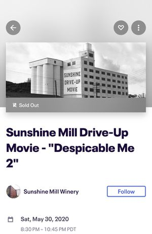 Drive in theater tickets for Sale in Portland, OR