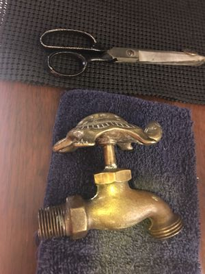 Vintage Brass Outdoor Water Spicout for Sale in Ada, OK