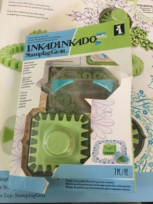 INKADINKADO STAMPING GEAR 7 piece set for Sale in Clovis, CA