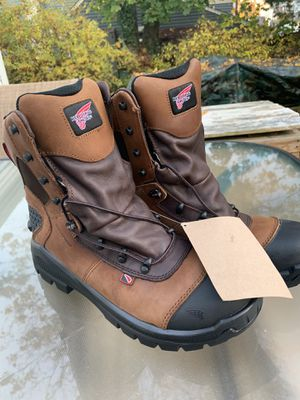 Red Wing Shoes Working Boots Steel Toe Sz 10 for Sale in CT, US
