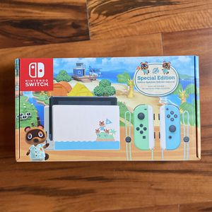 Brand New Nintendo Switch - Animal Crossing Edition for Sale in Kent, WA
