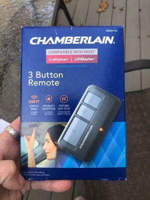 Chamberlain 3 button garage door remote (brand new) for Sale in Shrewsbury, MA