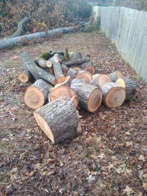 Free dry firewood in Dallas Georgia for Sale in Dallas, GA